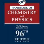 کتاب فوقالعاده مرجع CRC ویرایش 95 و 96 سال 2016